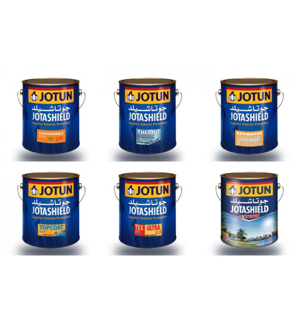 JOTASHIELD EXTERIOR PAINTS By Jotun